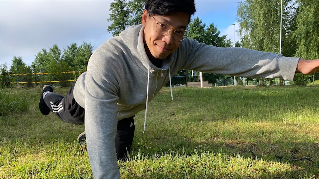Personliga tränaren och massören Phaisarn Gustavsson