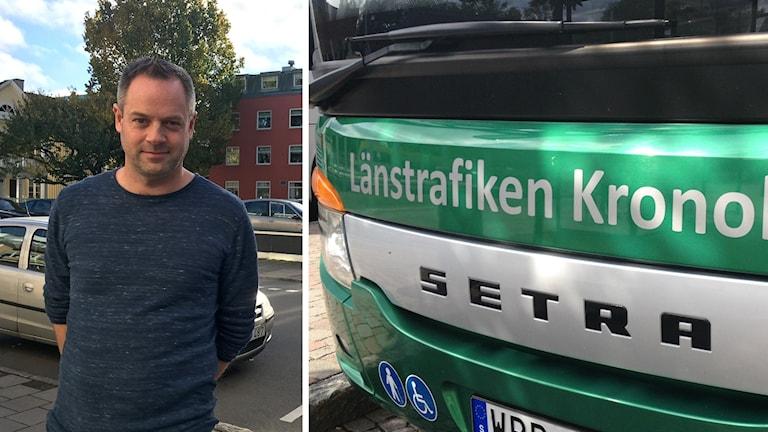 Patrik Tidåsen, trafikchef på Länstrafiken Kronoberg.