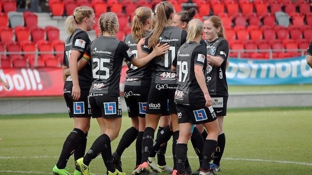 Växjö DFF besegrade Linköping.