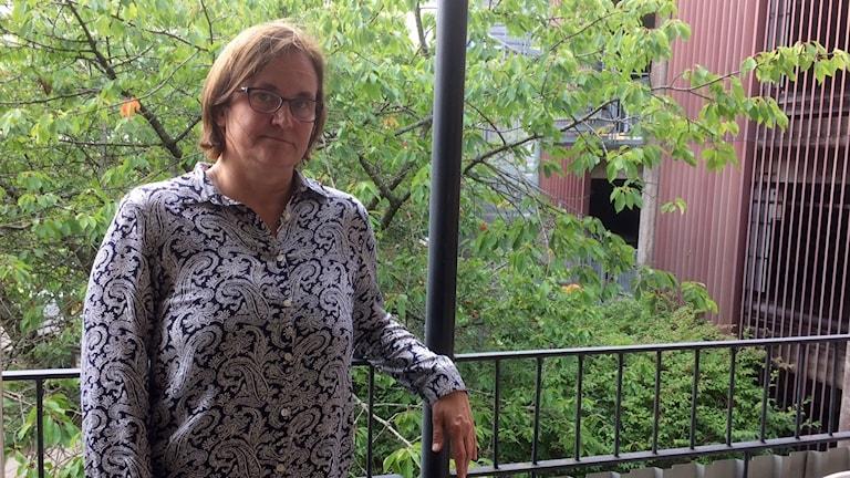 Lena Nazzal, chef för Region Kronobergs primärvårdscentrum.