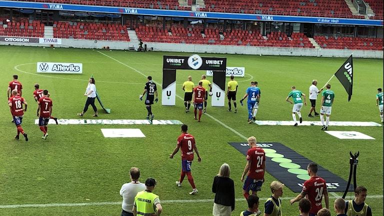 Bild från en fotbollsmatch