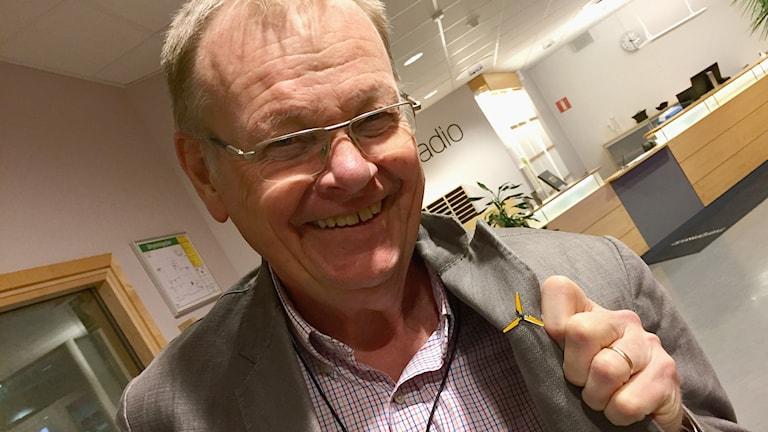 Växjöpolitikern Lennart Värmby är vindkraftsamordnare.