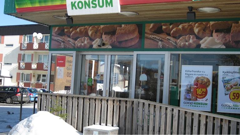 Konsum i Lenhovda. Foto: Lena Pettersson SR/Kronoberg