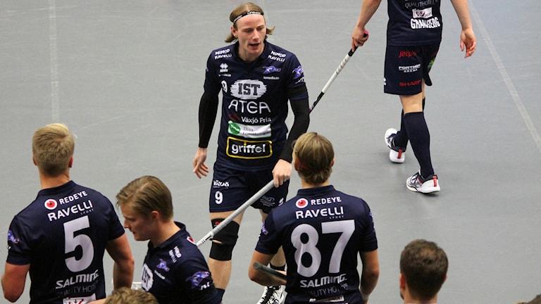 Förbannad Jesper Sankell. Växjö Vipers 2017/2018.
