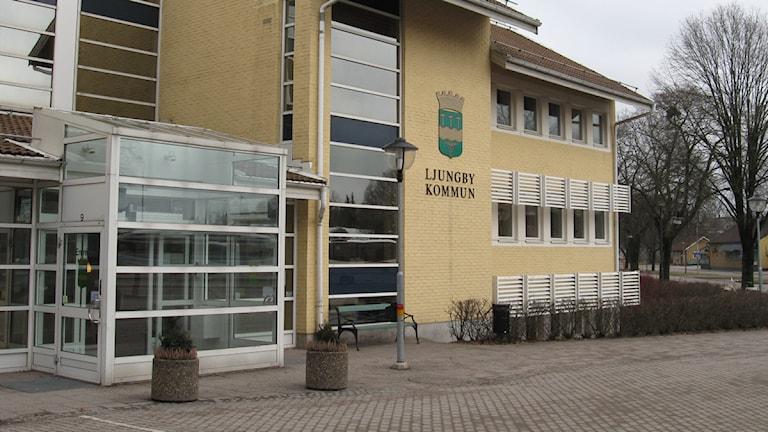 Ljungby kommunhus. Foto: Therese Gabrielsson/SR