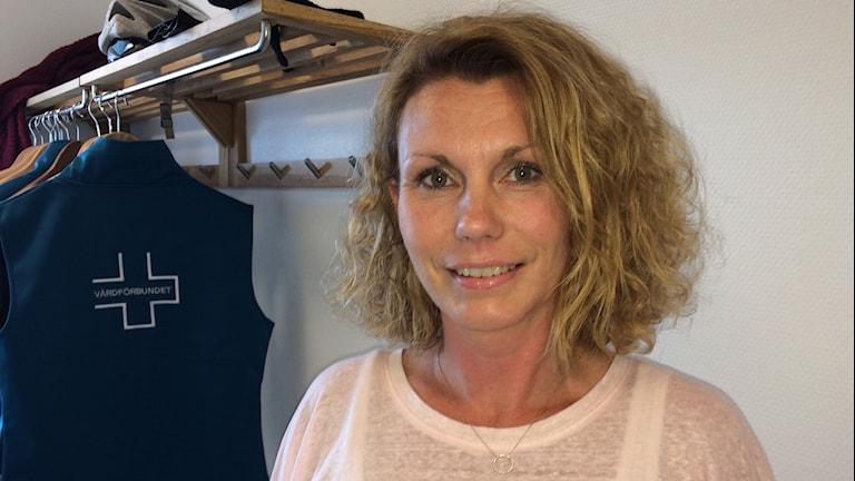 Anna Seiborg Kidell, Vårdförbundet Kronoberg