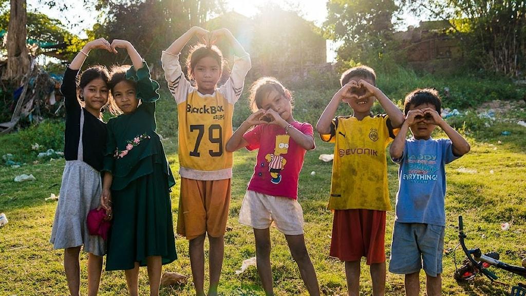 Bilder från Kambodja tagna 2020. Fotograf: Jesper Anhede.