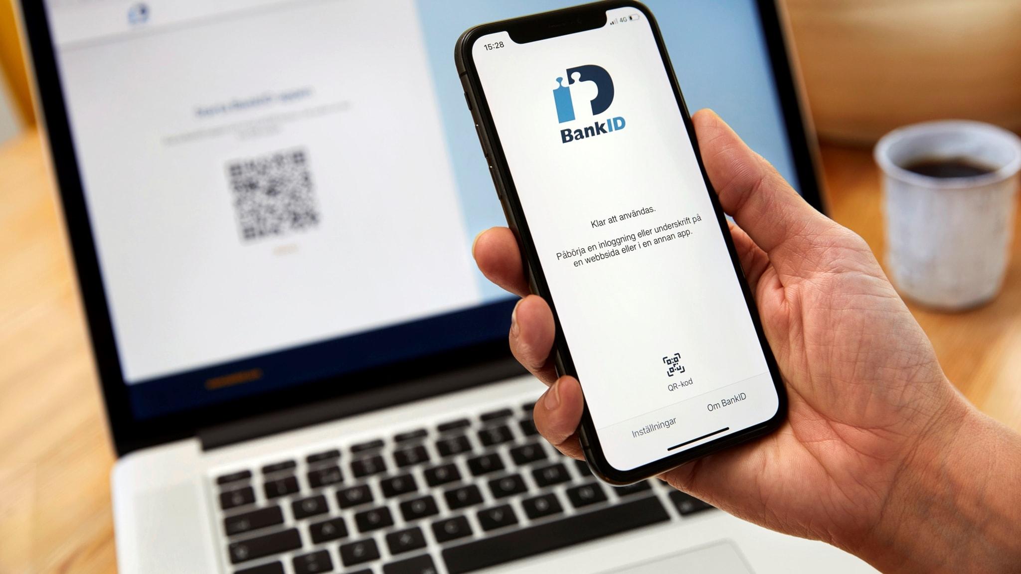 Enkel och säker inloggning med Bank ID