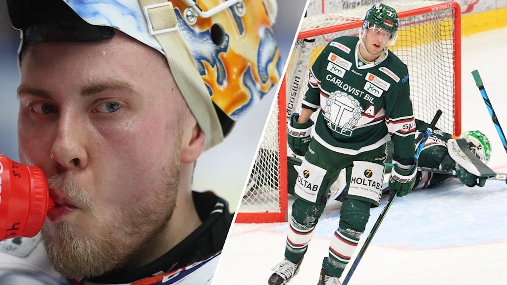Viktor Andrén och en deppig spelare i TAIF.