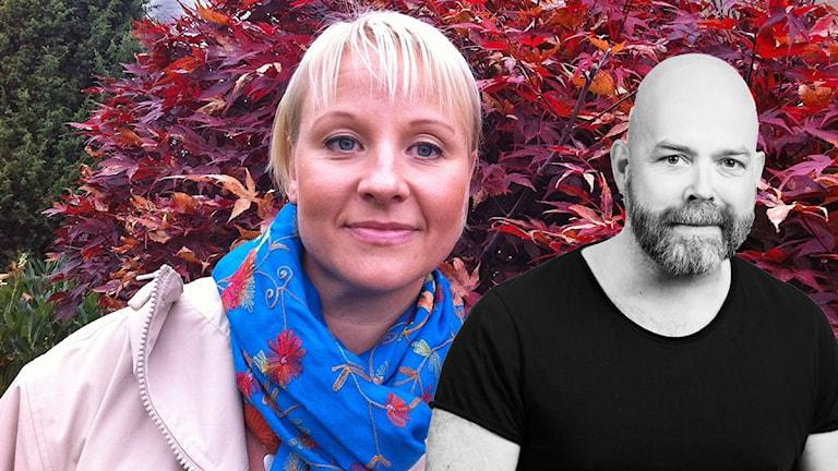 Anna Tenje och Jocke Wallgren