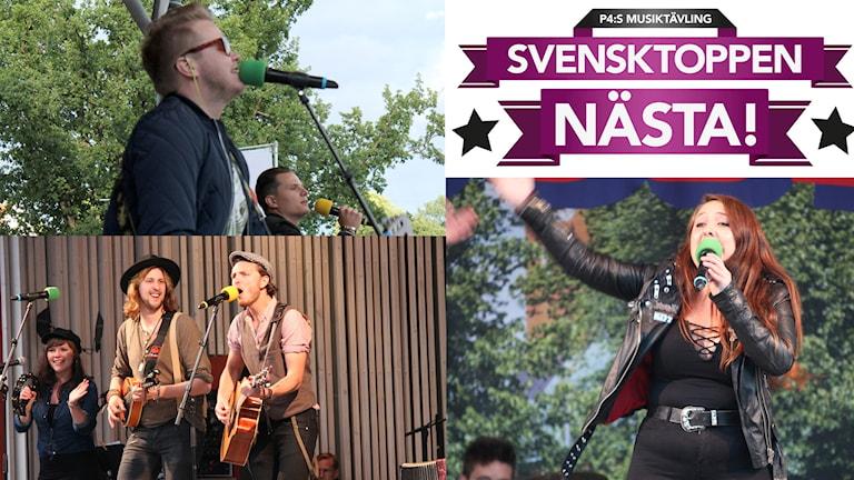 Finalartisterna i Svensktoppen nästa