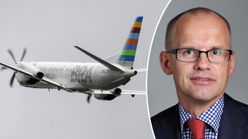 Clas-Göran Carlsson flyg