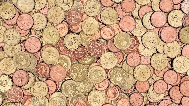 De nya mynten.