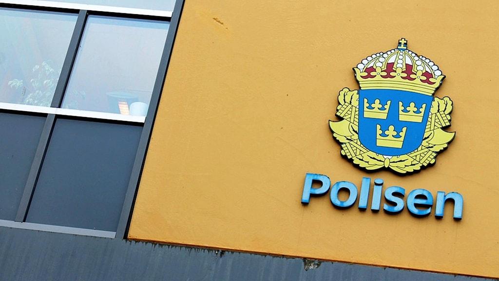 Polishusets fasad