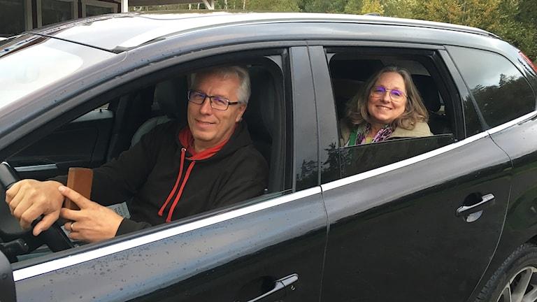 Roger Söderling och Mia Haldin