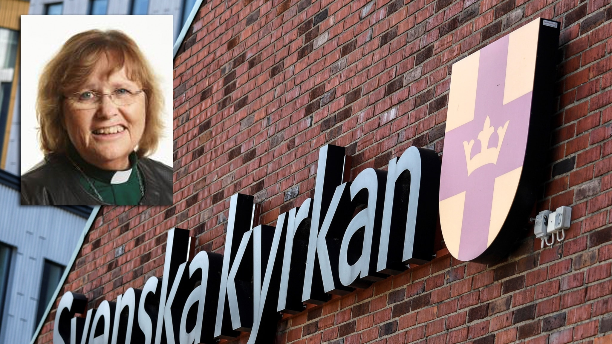 Montage av Svenska kyrkan och diakon Yvonne Nejdefalk