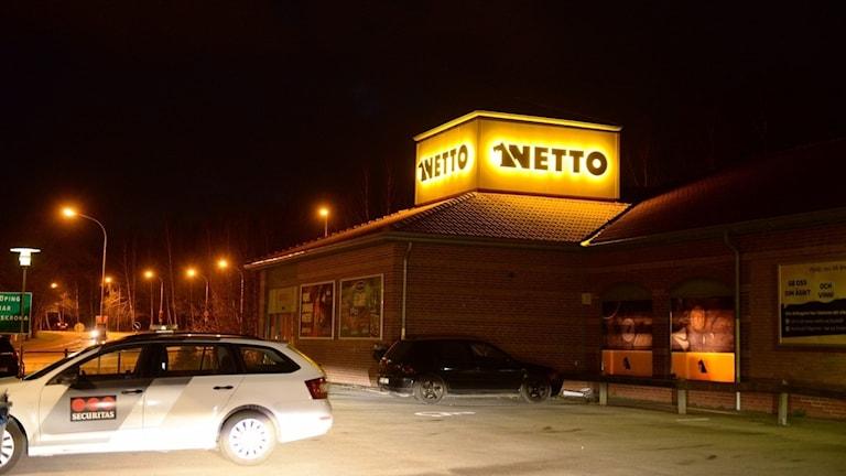Nettobutiken på Nydalavägen i Växjö rånades på fredagskvällen.