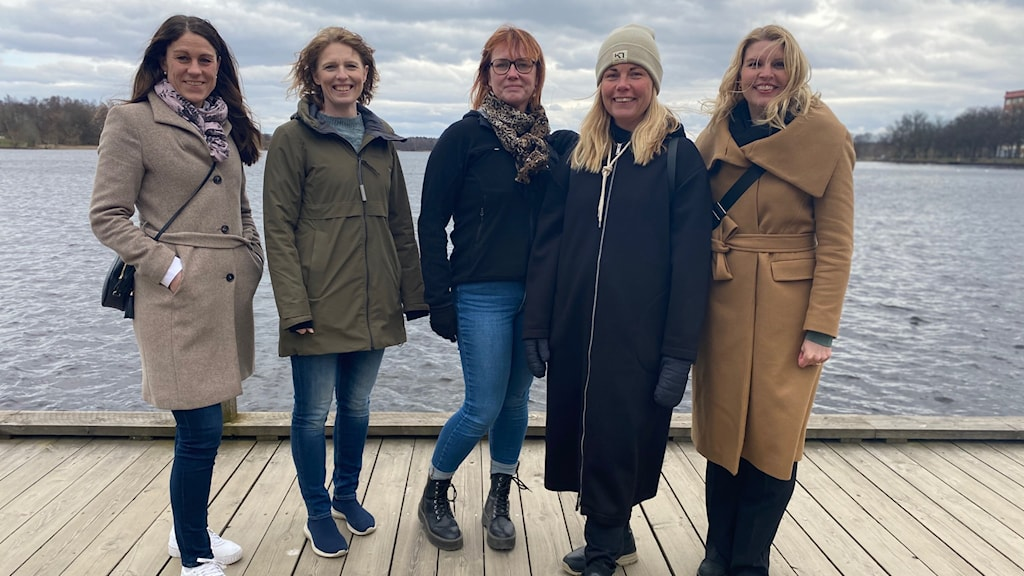 Anna Sjödahl, Hanna Lindblom, Elisabeth Anderberg, Stina Jansson, Anna Palmgren