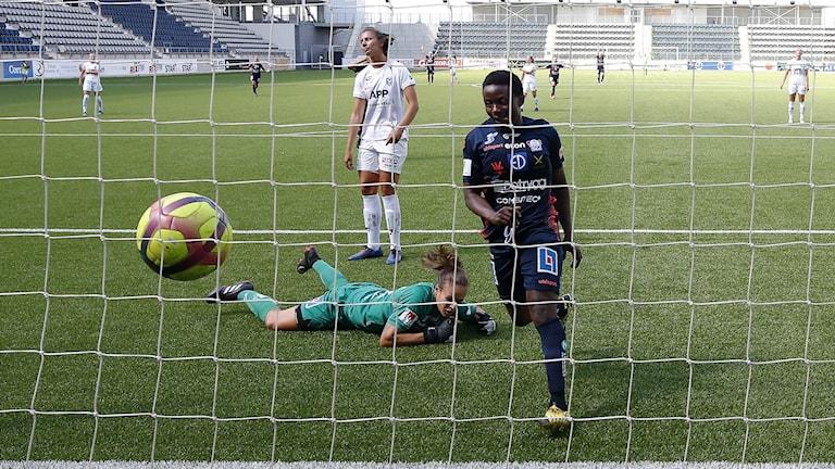 Bild från en fotbollsmatch.