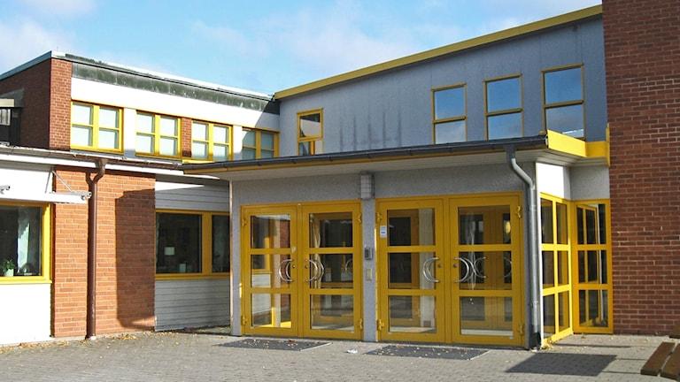 Högstadieskolan Bikupan i Lessebo.