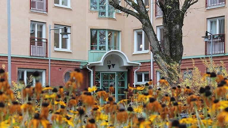 Äldreboendet Nicklagården i Älmhult.