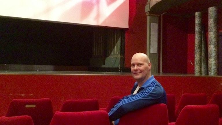 Mats Gillmor på Folkets bio i Växjö