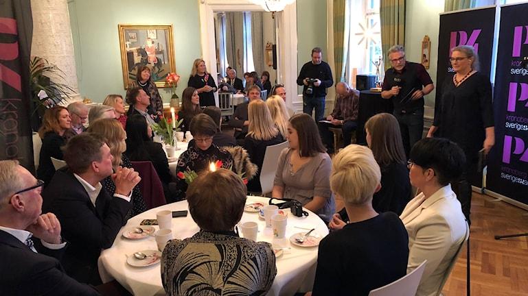 Publiken och de nominerade på prisutdelningen Årets Kronobergare 2017
