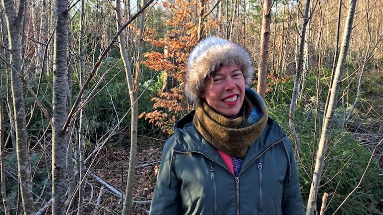 Ellen Flygare, reservatsförvaltare Hissö