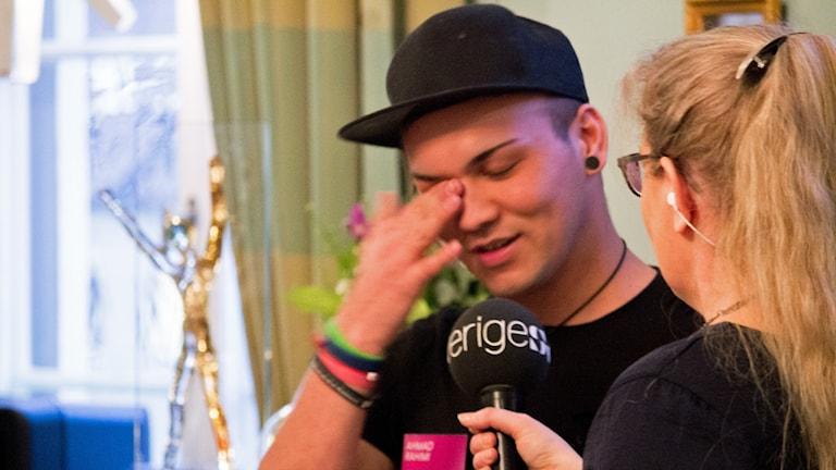 Ahmad Rahimi blev Årets Utmanare 2017