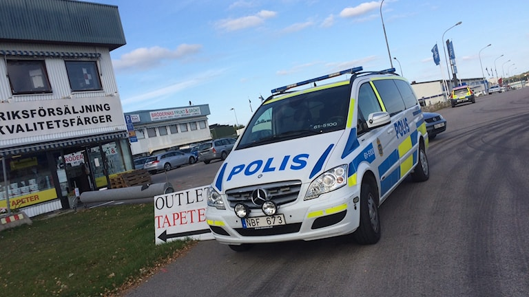 Polisingripande Växjö