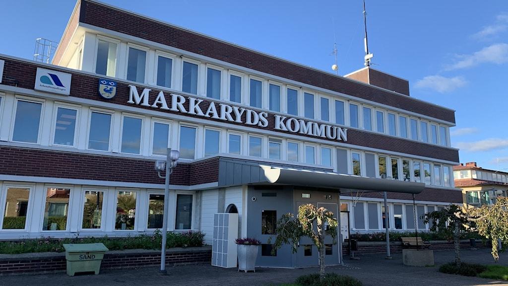 Markaryds kommunhus.