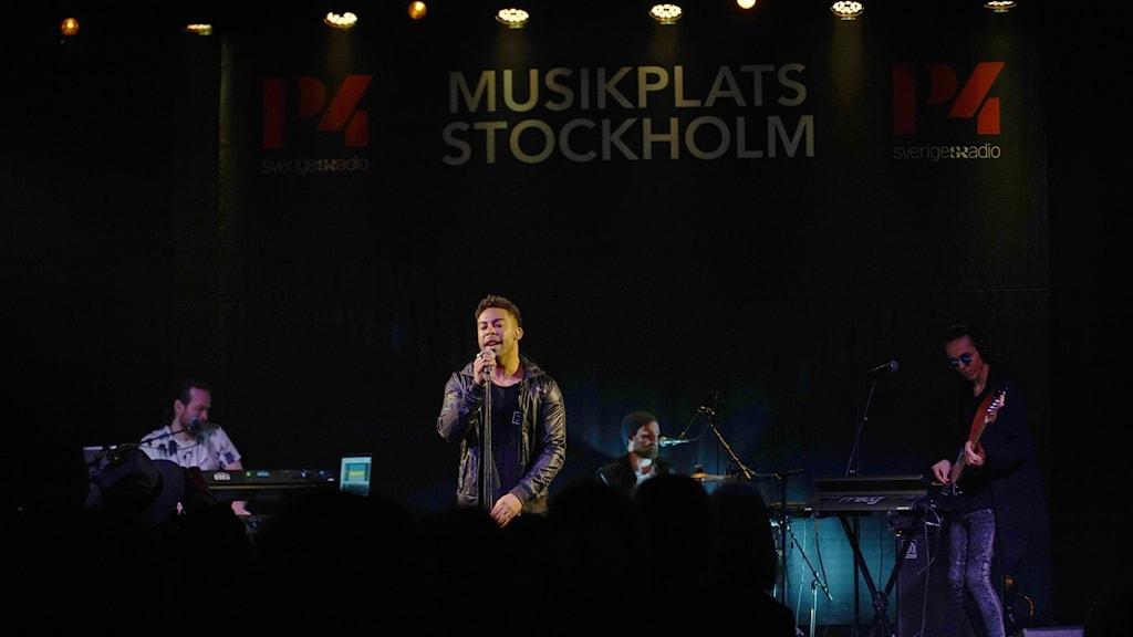 John Lundvik, Musikplats Stockholm