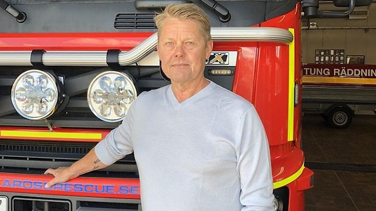 Pär Stensson tillträder som ny räddningschef i RÖK i augusti.