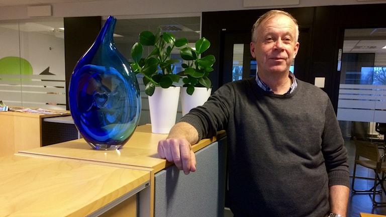Lennart Grimsbo, bostadsdirektör på länsstyrelsen