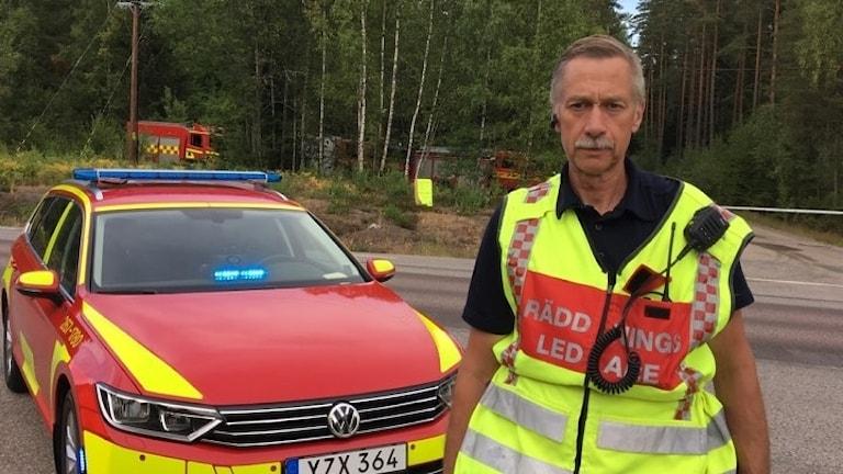 Per Pettersson, räddningschef i beredskap Räddningstjänsten Östra Kronoberg