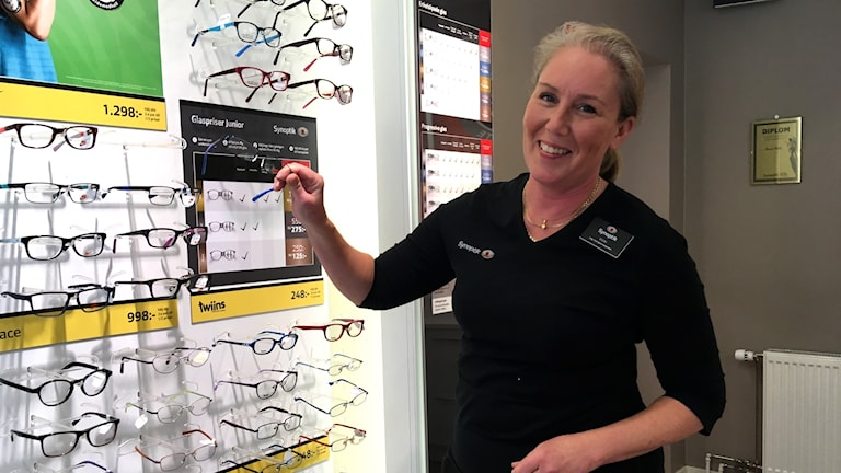 Optiker i Växjö.