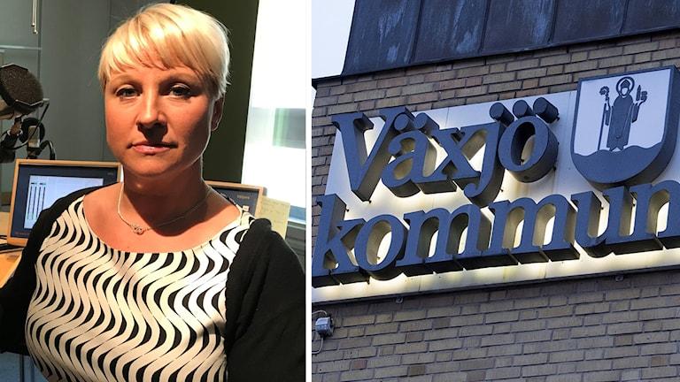 Anna Tenje (M), kommunalråd i Växjö.