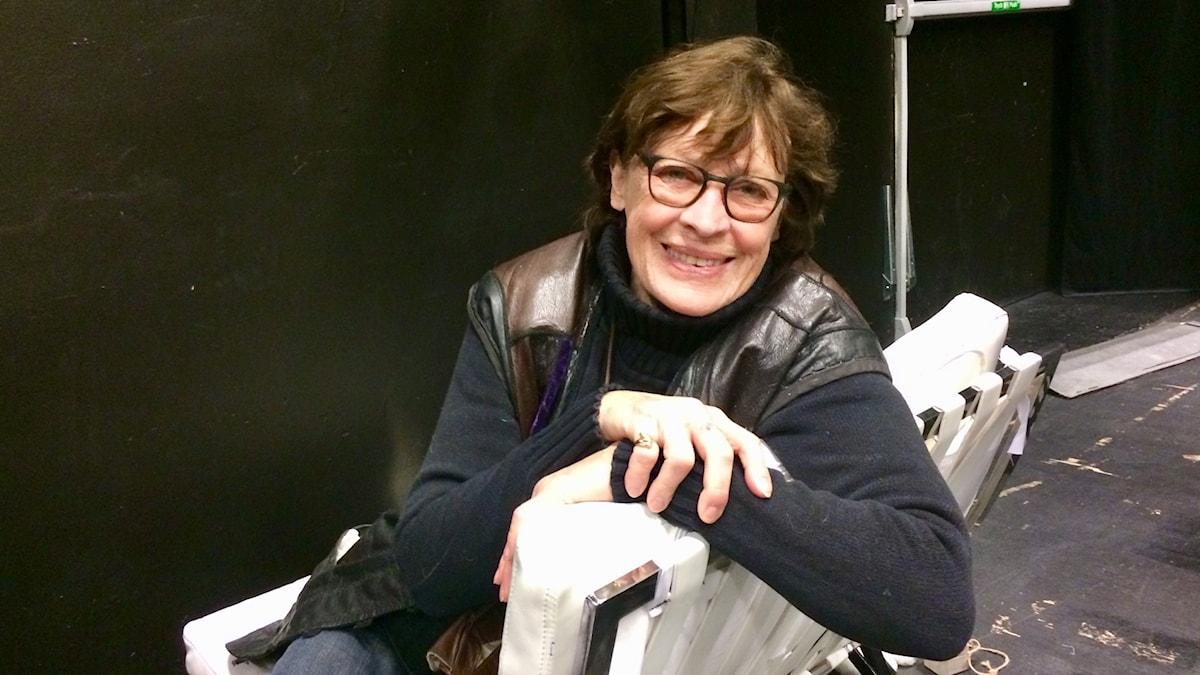 Evabritt Strandberg på Regionteatern