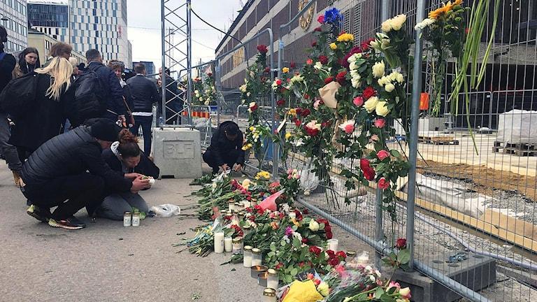 مكان وقوع الجريمة الإرهابية، شارع دروتنينغاتان.
