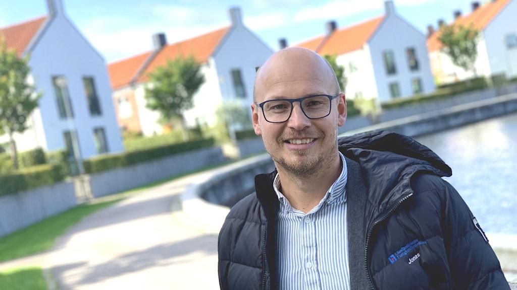 Jonas Hellström, fastighetsmäklare på Länsförsäkringar Fastighetsförmedling i Kronoberg