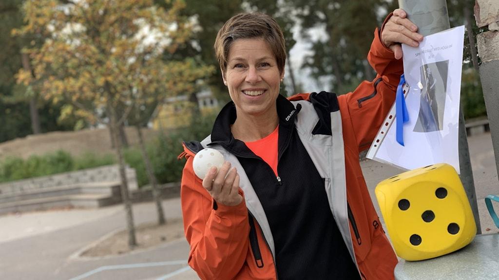 Speciallärare Malin Andreasson på Gemöskolan i Älmhult.