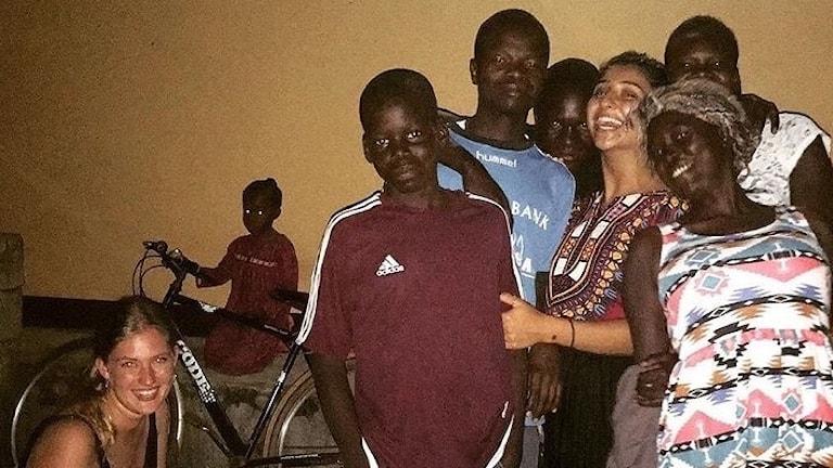 Foto från Hedvig Lagercrantz resa i Uganda.