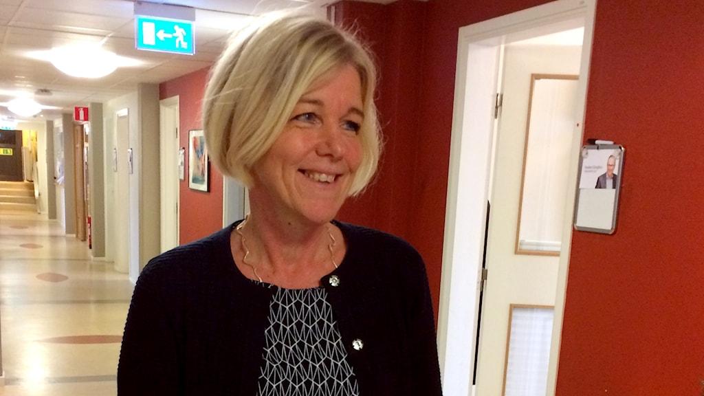Camilla Holmqvist, chef på utbildningsförvaltningen i Växjö.