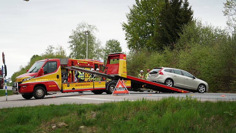 Trafikolycka Växjö