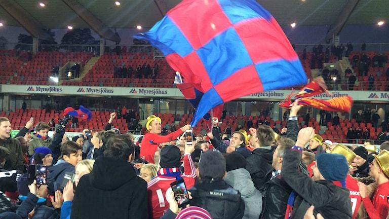 mario Vasilj firar, Öster