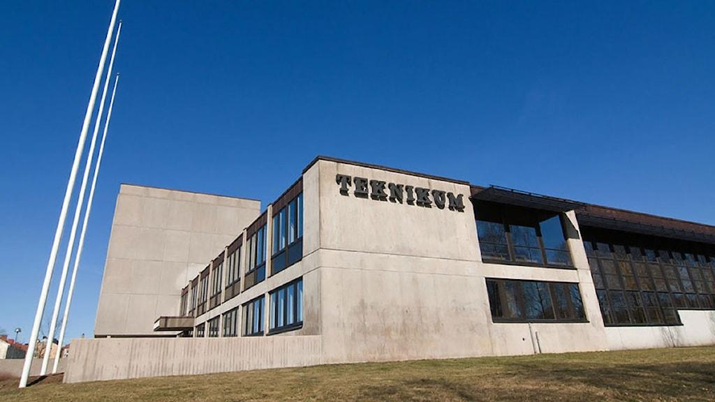 Gymnasieskolan Teknikum i Växjö.