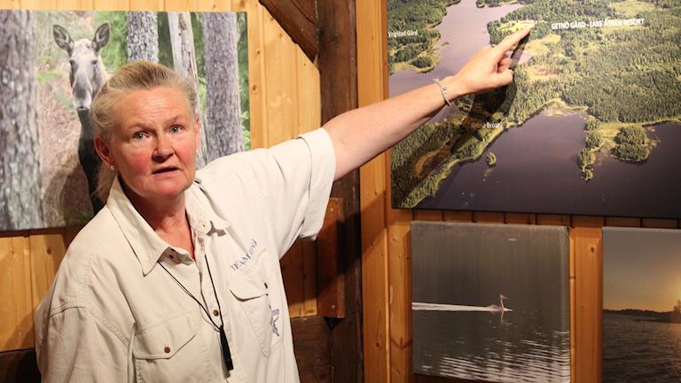 Intresset för naturturism ökar stadigt i Kronoberg också enligt Destination Småland. Många kommer till Ingrid Olsson på Getnö Gård som ligger vid Åsnen.