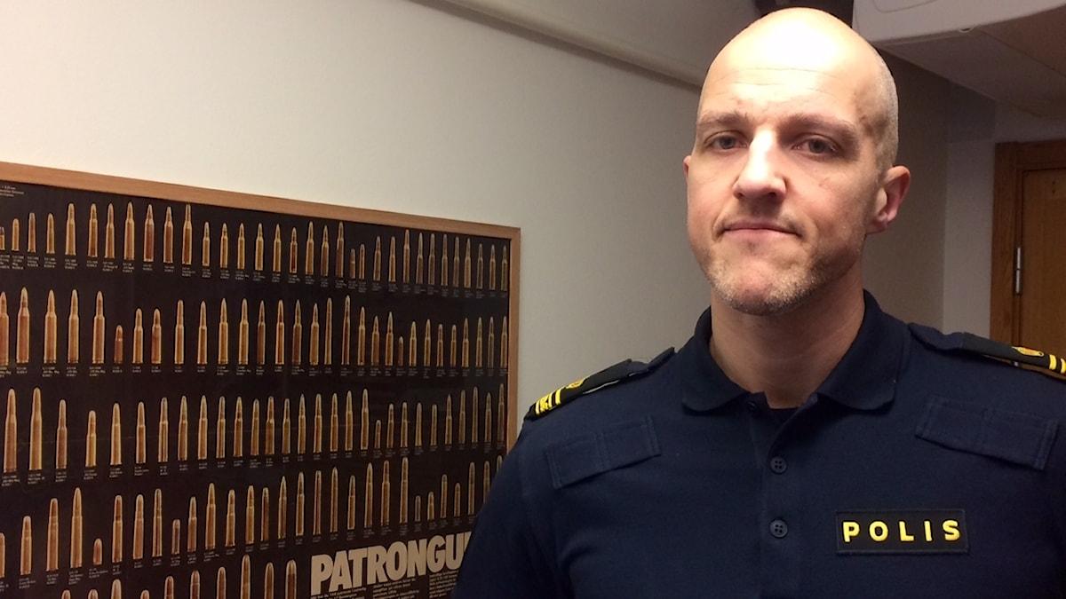 Andreas Svensson, gruppchef på polisen i Ljungby