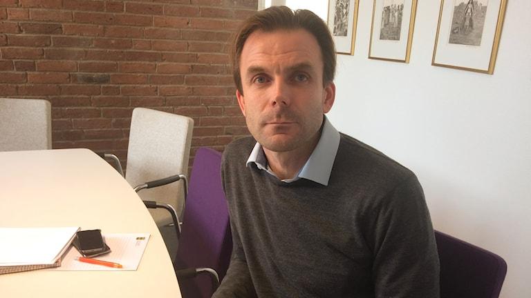 Trond Strangstadstuen, samordnare om radon i Ljungby kommun.