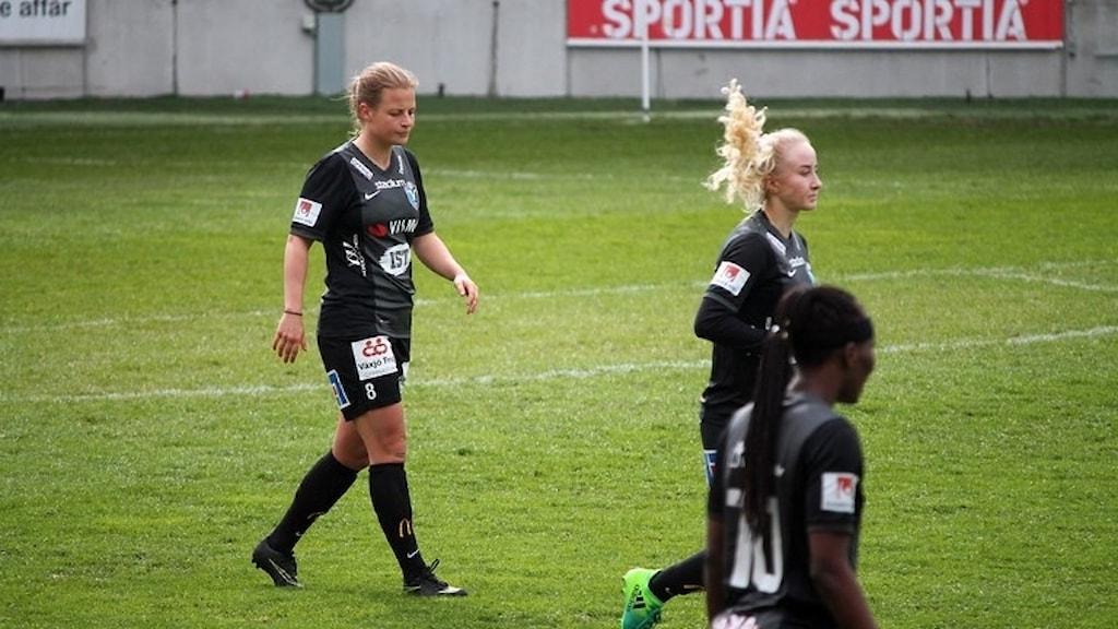 Växjö DFF förlorade mot Kopparberg/Göteborg
